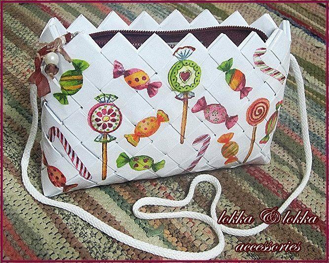 friendly eco bag/handmade