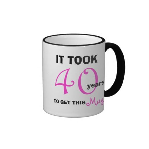 Funny 40th Birthday Gifts Presents For: 1000+ Images About Gifts For Women Turning 40 On Pinterest