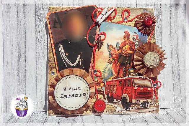 Pracownia artystyczna IKart: Imieninowa dla kapelana straży