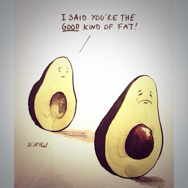 I said you're the good kind of fat, avocado. | Fitness Fun ...