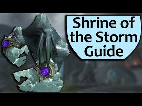 Shrine of the Storm Dungeon Guide - Heroic and Mythic Shrine