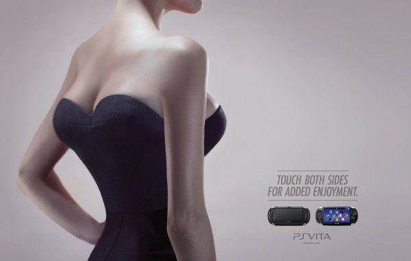 Advertising for PSVITA by TBWA Paris #pub