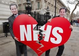 We can't let Cameron and his band of corrupt racists ruin the NHS