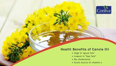Canola Oil has many #Health Benefits.... Don't forget to share it with other. #canolaoil #healthy
