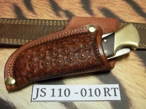 Custom leather knife Sheath  JS110010 by JSLeatherworks on Etsy, $17.00