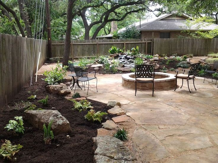 49 Pretty Grassless Backyard Landscaping Ideas – homishome