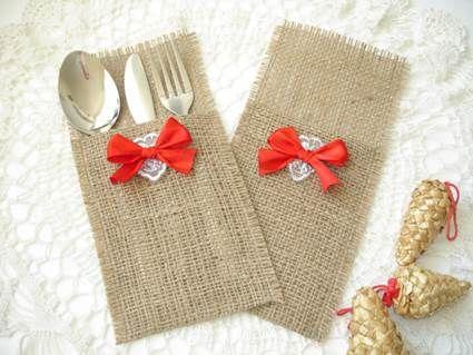 Ideas para decorar la mesa de Navidad