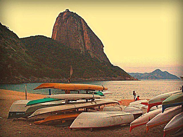 Praia Vermelha, Urca, Rio de Janeiro, Brazil