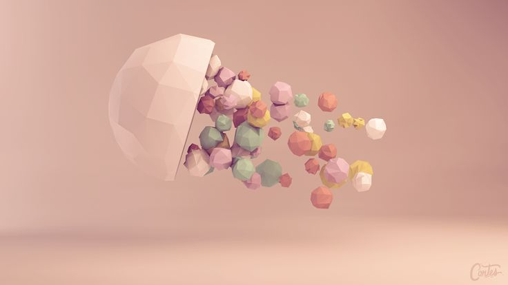 """""""Astratto"""" Low Poly Collection on Behance"""