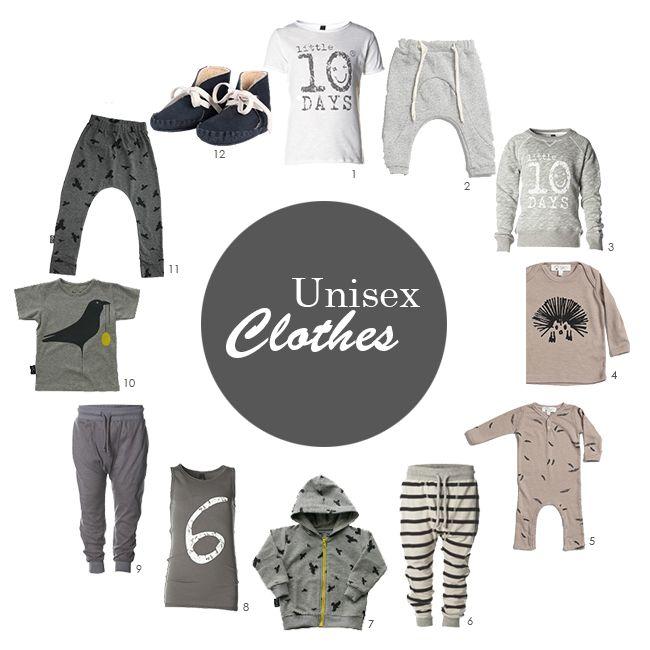 Cool Unisex clothes
