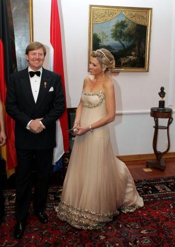 Reine Maxima, roi Willem Alexander