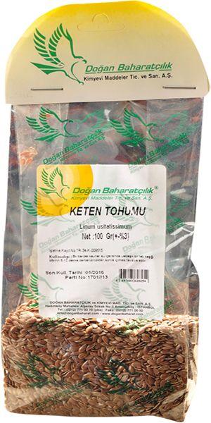 Keten Tohumu - Bezir Tohumu - 2,50 TL - Kanser, Mide, Bağırsak, Kabızlık, Akciğer, Bronşit, Öksürük, İltihaplanmalar, Bağışıklık, Kolestrol, Konsantrasyon, Yaşlanma Karşıtı, Omega-3, Vitamin, B-12 - Keten Tohumu - LokmanAVM.com Güvencesiyle..