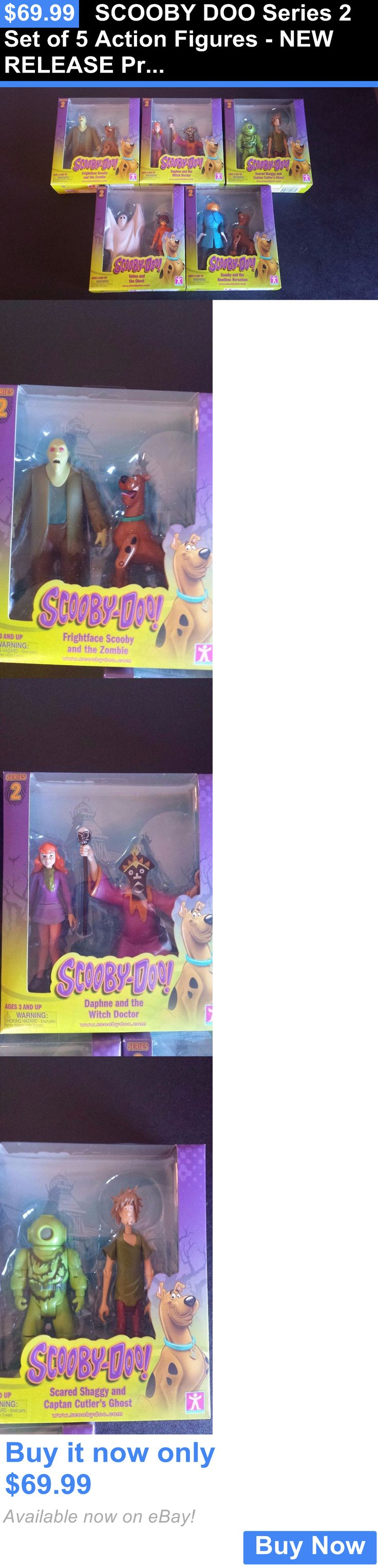 Toys And Games: Scooby Doo Series 2 Set Of 5 Action Figures - New Release Priority Shipping BUY IT NOW ONLY: $69.99