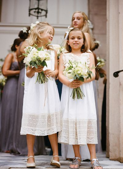 style | sweet + simple flower girl dresses | a bryan photography