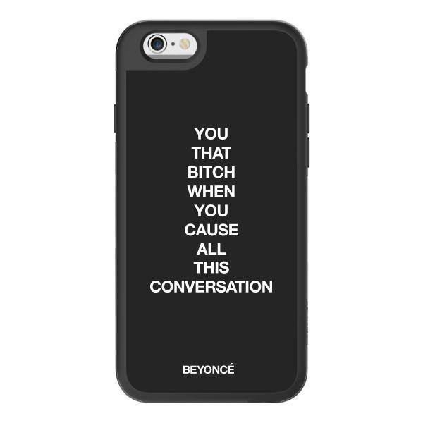 Beyonce - Conversational iPhone Case