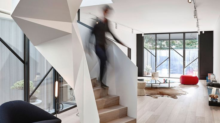 Best Origami Living Terrace House Fitzroy By Aa Architects 400 x 300