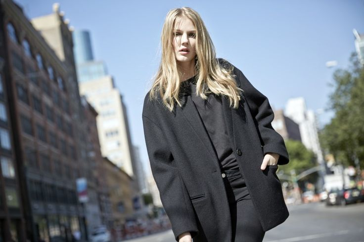 LOOKAST CHAPTER #5 - 2014 fall winter in New York_ loose fit oversize coat