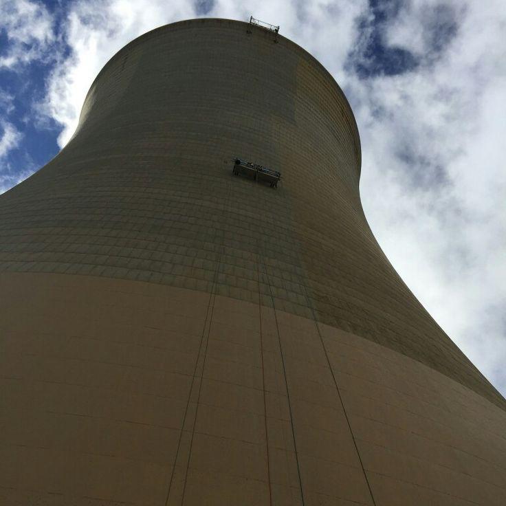 Tower being ProGuard applied  #nanokote #easytoclean #nanotechnology