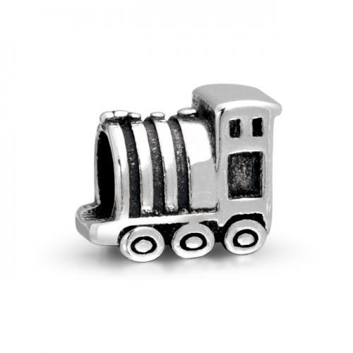 Bling Jewelry Choo Choo Train Sterling Silver Bead Fits Pandora Chamilia Charms