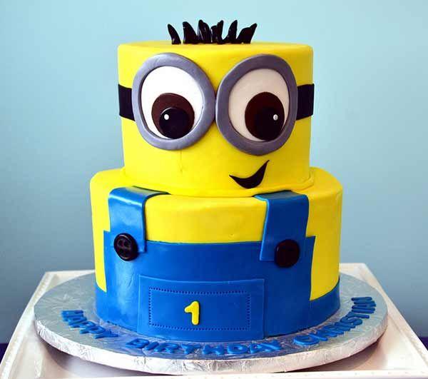Minion Birthday Cake Design The Best Cake Of 2018