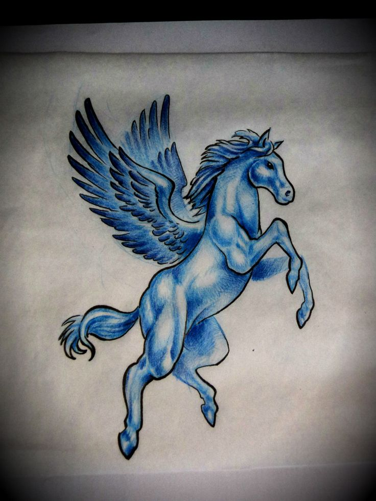 best 20 pegasus tattoo ideas on pinterest black wings mythical creatures art and real. Black Bedroom Furniture Sets. Home Design Ideas