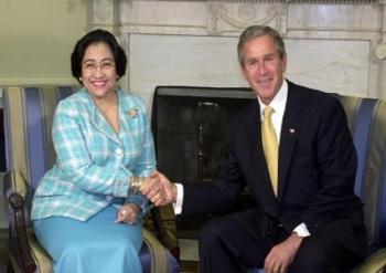 Megawati - Bush