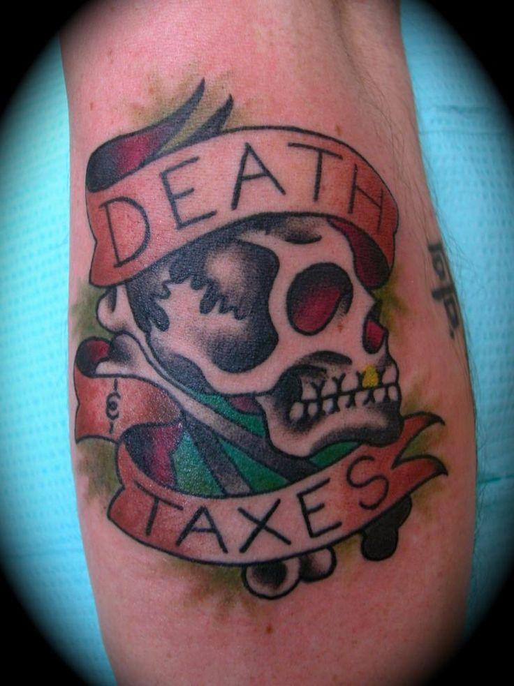 Taxes Tattoo Design Ideas On Arm Tattooideastrend Com