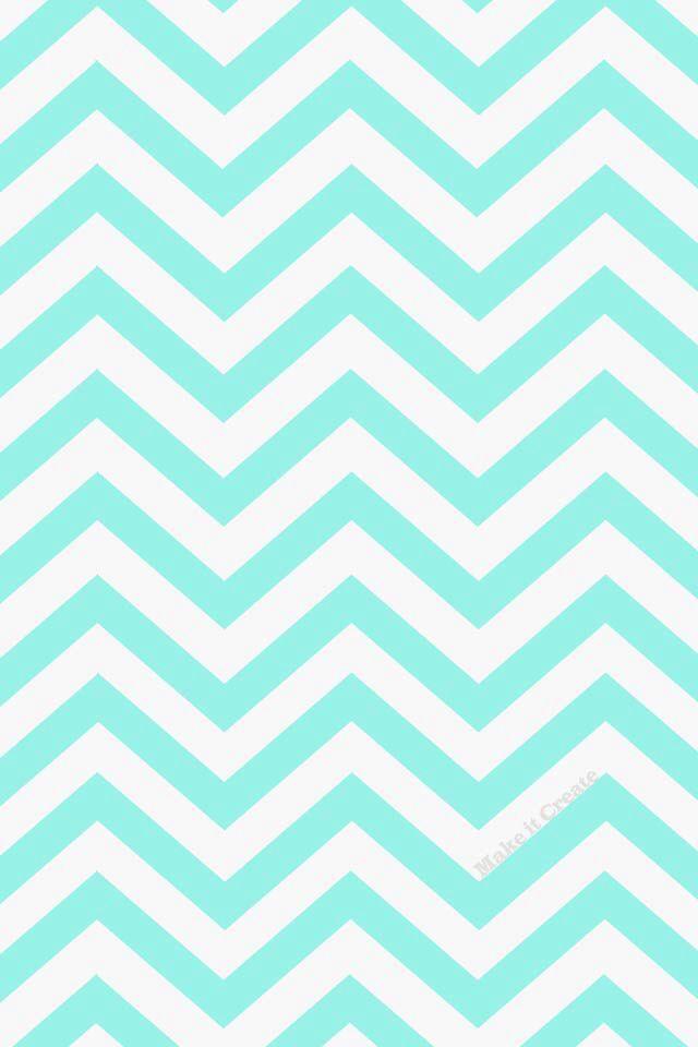 Blue chevron wallpaper fav my room is where it 39 s at for Blue chevron wallpaper