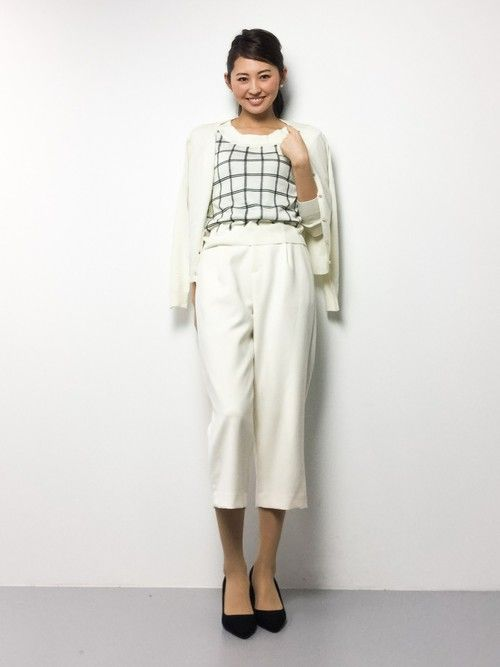 オフィス女子スタイル。春夏のファッションアンサンブルコーデ術を集めました!