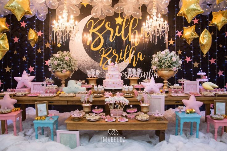 Festa Brilha brilha Estrelinha! Twinkle twinkle little star!