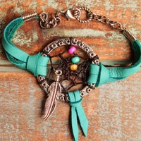 Daydream Believer- A Dreamcatcher Bracelet