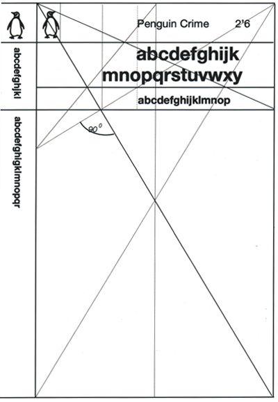 Penguin Crime grid by Polish designer Romek Marber
