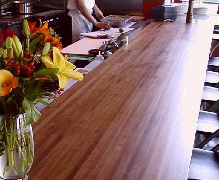 Butcher Block Bar Top Part - 47: Madrone Bar Top · Bar TopsButcher BlocksProduct ...