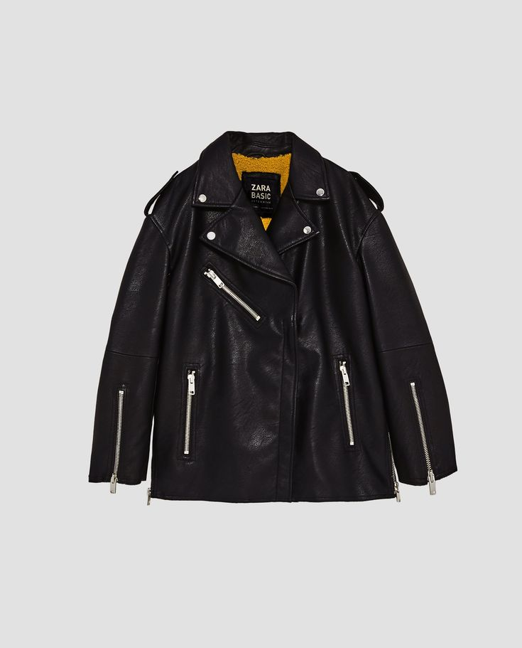 Image 11 of OVERSIZED TEXTURED JACKET from Zara