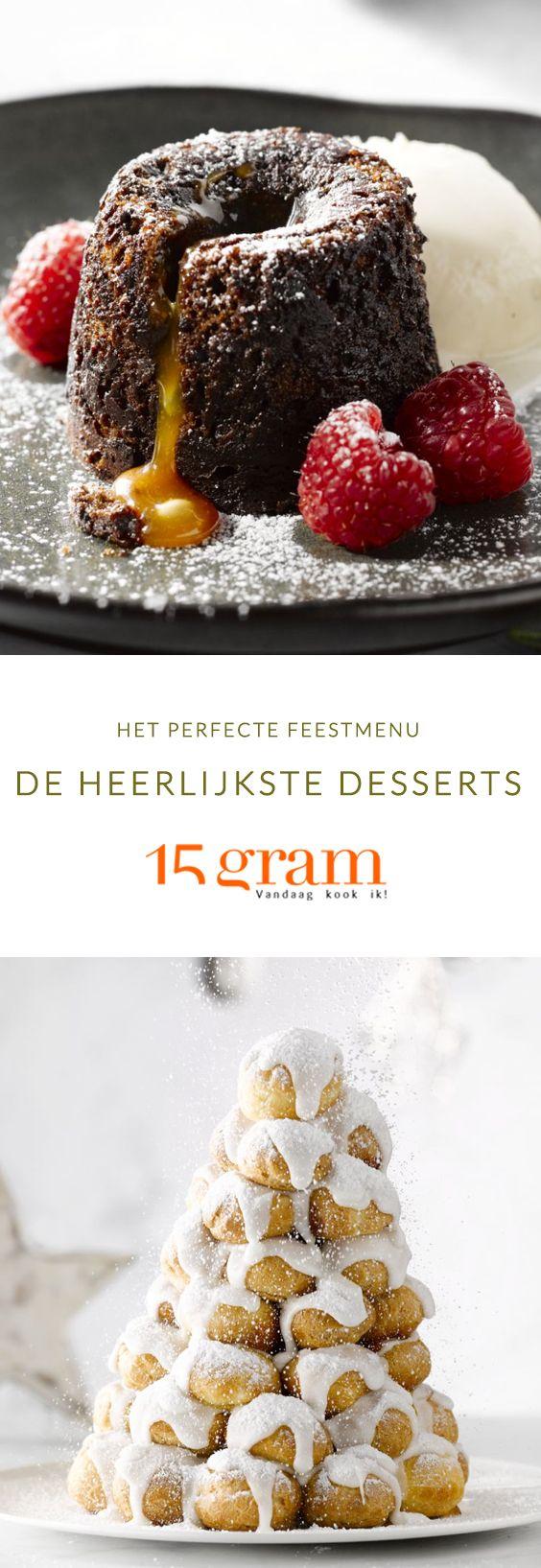 De lekkerste desserts om te serveren met kerst of nieuwjaar