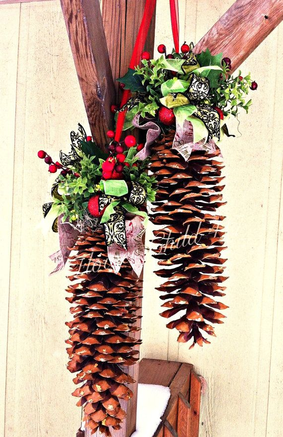 7 best sugar pine cone ideas images on pinterest christmas ornaments dutch ovens and pine cones - Crafty winter decorations with pine cones ...