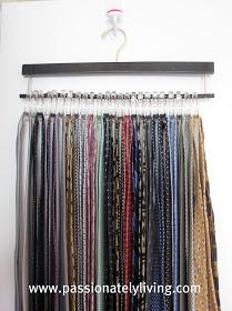 Pionately Living Tie Scarf Hangers