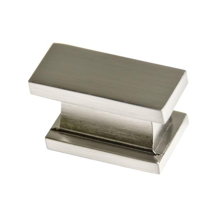 Southern Hills Satin Nickel Rectangular Cabinet Knobs