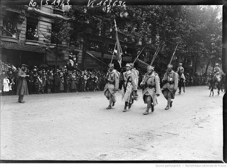 14/7/18, les Polonais [défilé des troupes] : [photographie de presse] / [Agence Rol]