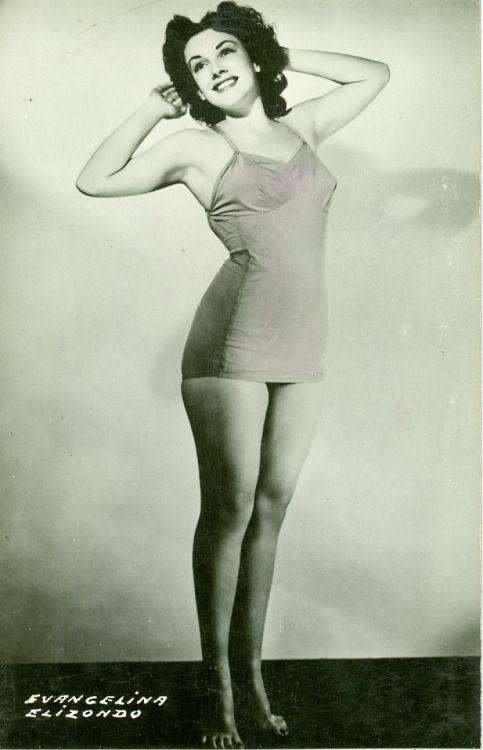 Evangelina Elizondo, diva del cine Mexicano.-1940s-1970s