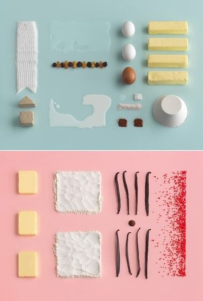The layout for the Ikea cookbook is pretty fab