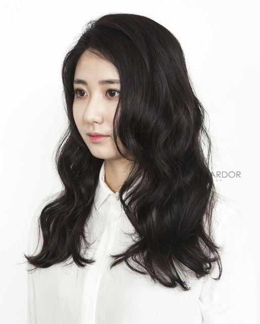 #hair #hairstyle #longhair #long #wave #bold #perm #running #cut #color