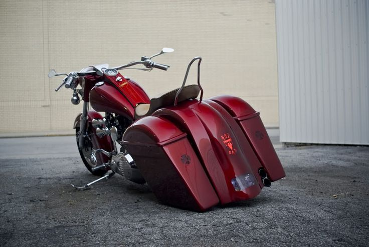 baggers | ... Custom Bagger Parts for Your Bagger | Baggers :: Andrea's Shovelhead
