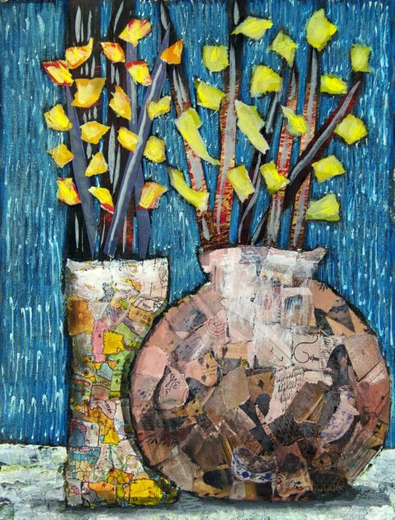 Buy Flowering branches, torn paper collage, Collage by Mariann Johansen-Ellis on Artfinder. Discover thousands of other original paintings, prints, sculptures and photography from independent artists.