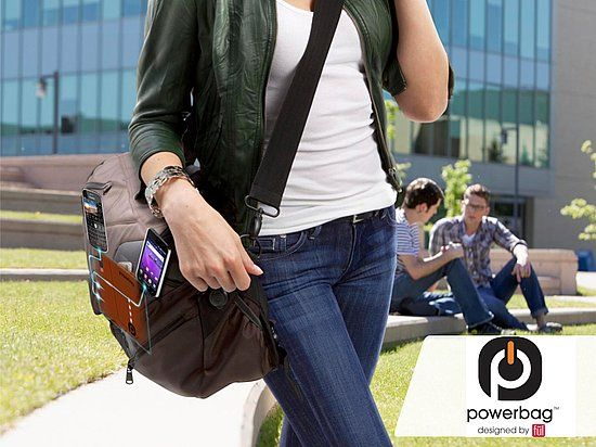 Charge on the go: Powerbag