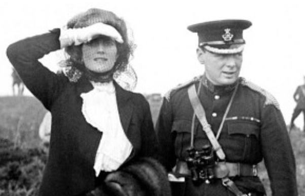 Winston and Clementine Churchill, 1910