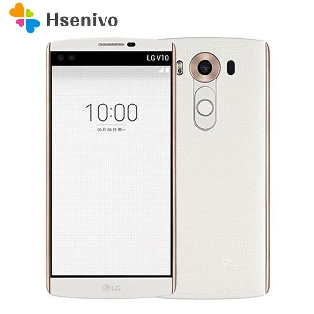 "Brand Name:LG Free Shipping other Original Unlocked LG V10 H901 F600 5.7"" 4GB RAM 64GB ROM single/dual sim 3 cameras Refurbished Phone Free shipping #popular #mobile #phones #useful"