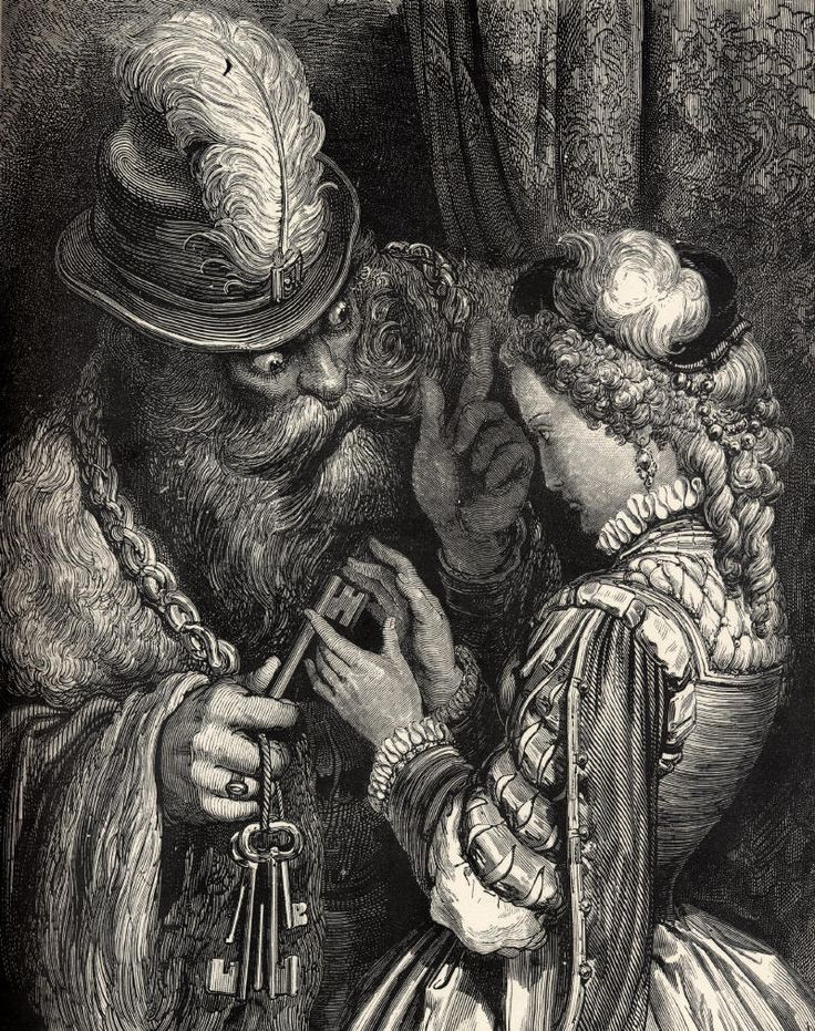 Neuf Contes, Charles Perrault Illustration by Gustave Doré