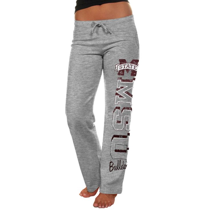 Mississippi State Bulldogs Women's Frosh Fleece Sweatpants - Ash