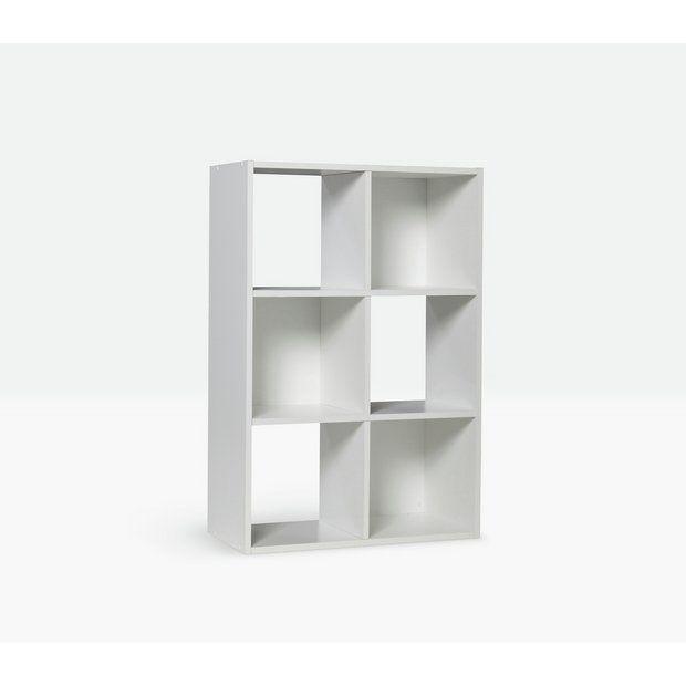 Argos Home Squares 6 Cube Storage